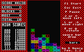 Collapse atari screenshot